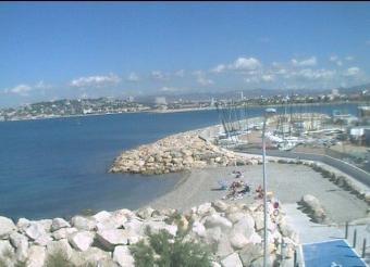 Marseille webcam - Marseille Beach webcam, Provence-Alpes-Cote d'Azur, Bouches-du-Rhone