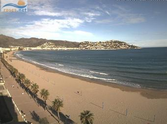 Roses webcam - Roses, Costa Brava webcam, Catalonia, Girona