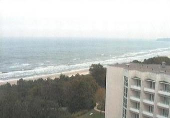 Sellin webcam - Cliff-Hotel Ruegen 1 webcam, Mecklenburg-Vorpommern, Ruegen