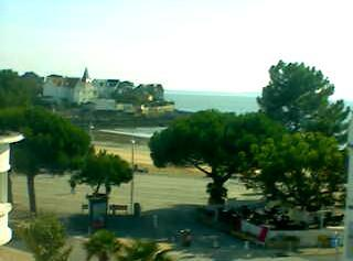 Saint-Palais-sur-Mer webcam - Saint-Palais-sur-Mer webcam, Bay of Biscay, Charente-Maritime