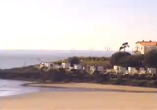 Royan webcam - Pontaillac - Carrelets webcam, Bay of Biscay, Charente-Maritime
