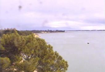 Saint-Trojan-les-Bains webcam - Saint Trojan les Bains - Pointe Manson webcam, Bay of Biscay, Charente-Maritime