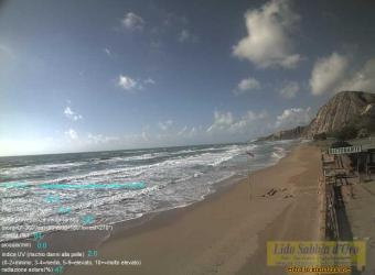 Siculiana webcam - Siculiana Marina webcam, Sicily, Agrigento