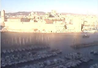 Marseille webcam - Marseille - Old Port Entrance webcam, Provence-Alpes-Cote d'Azur, Bouches-du-Rhone