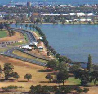 Melbourne webcam - Albert Park Lake webcam, Victoria, Melbourne