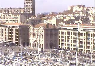 Marseille webcam - Marseille - Hotel De Ville webcam, Provence-Alpes-Cote d'Azur, Bouches-du-Rhone