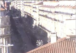 Marseille webcam - Marseille - Republic Street webcam, Provence-Alpes-Cote d'Azur, Bouches-du-Rhone