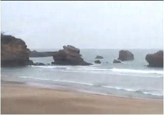 Biarritz webcam - Biarritz - Panovideo webcam, Aquitaine, Pyrenees-Atlantiques