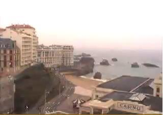 Biarritz webcam - Biarritz - Casino webcam, Aquitaine, Pyrenees-Atlantiques