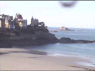 Dinard webcam - Dinard Pointe webcam, Bretagne, Ille-et-Vilaine