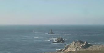 Plogoff webcam - Pointe du Raz webcam, Bretagne, Finistere