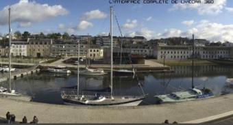 Vannes webcam - Port de Plaisance webcam, Bretagne, Morbihan