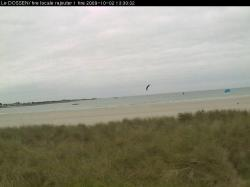 Roscoff webcam - Plage du Dossen webcam, Bretagne, Finistere