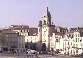 La Rochelle webcam - La Rochelle Clocktower webcam, Bay of Biscay, Charente-Maritime