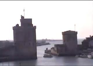 La Rochelle webcam - La Rochelle Towers webcam, Bay of Biscay, Charente-Maritime