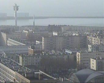 Le Havre webcam - Le Havre Tower of City Hall webcam, Haute-Normandie, Seine-Maritime
