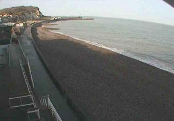 Saint-Valery-en-Caux webcam - Saint-Valery-en-Caux beach webcam, Normandy, Seine-Maritime