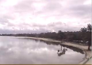 Carcans webcam - Carcans Beach Lake webcam, Aquitaine, Gironde