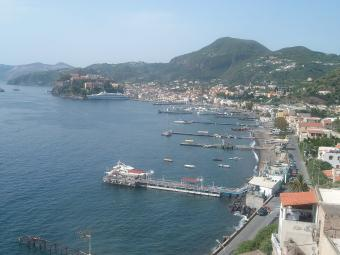 Lipari webcam - Marina Lunga webcam, Sicily, Messina