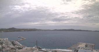 Adamas webcam - Casa Aiora webcam, Cyclades, Milos