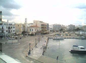 Tinos webcam - Tinos Town webcam, Cyclades, Cyclades