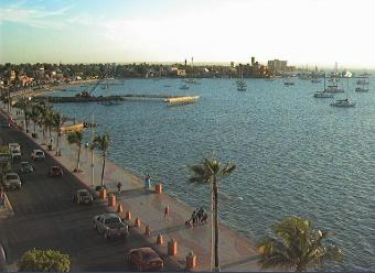 La Paz webcam - Seven Crown Hotel webcam, Baja California Sur, Baja California Sur