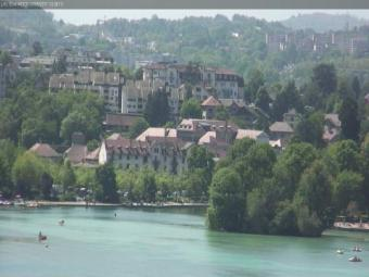 Annecy webcam - Annecy � Thiou channel webcam, Rhone-Alpes, Haute-Savoie