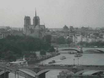 Paris webcam - Notre-Dame webcam, Ile-de-France, Paris