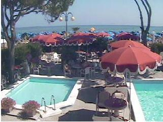 Jesolo webcam - Beach Hotel Termini webcam, Venetia, Venice
