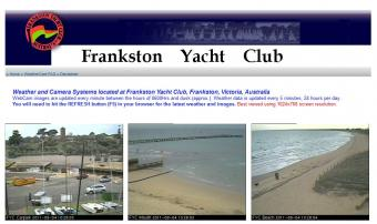 Frankston webcam - Frankston Yacht Club Beach webcam, Victoria, City of Frankston
