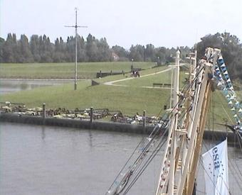 Greetsiel webcam - Greetsiel Harbour webcam, Lower Saxony, Aurich