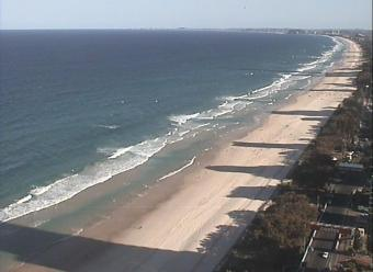 Gold Coast webcam - Seaway Spit webcam, Queensland, Gold Coast