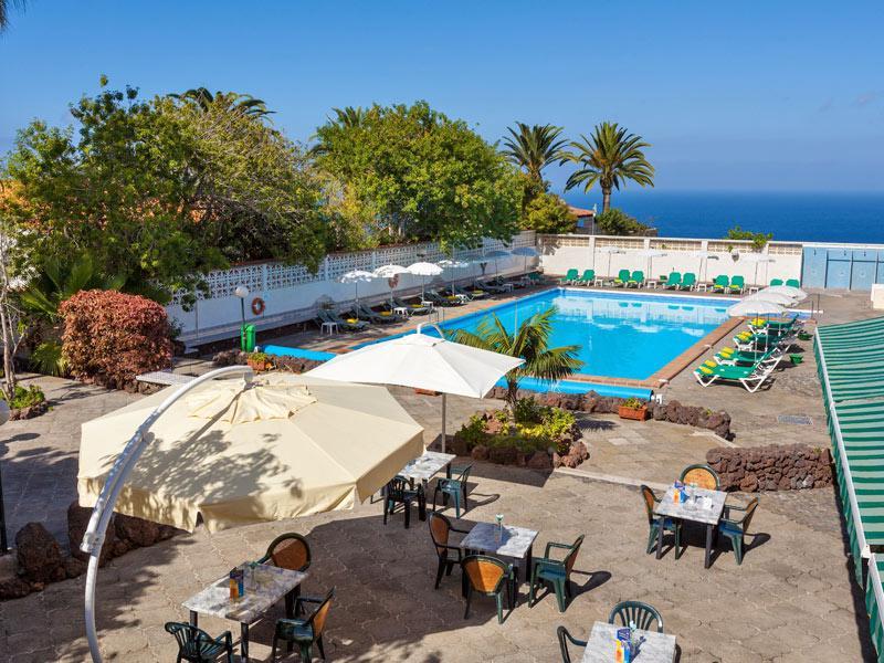 Panoramic gardens in puerto de la cruz orotava valley spain hotel weddings business - Hotel orotava puerto de la cruz ...