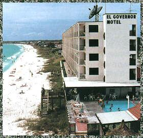 El Governor Motel In Mexico Beach Bay County United