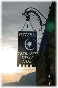Osteria Terrazze Della Luna in Nago-Torbole, Trento, Italy ...