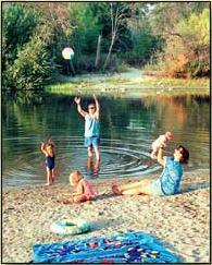 Kaweah Park Resort In Three Rivers Tulare County United