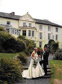 Wedding At The Legacy Royal Victoria Hotel In Llanberis