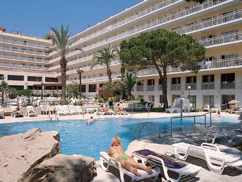Hotel oasis park in lloret de mar girona spain family entertainment centre hotel hotel Girona hotels with swimming pool