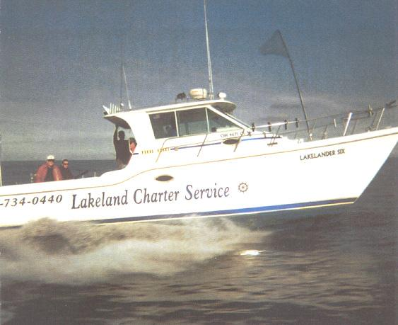 Lakeland charter services in port clinton ottawa county for Port clinton fishing charters