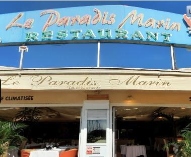 Restaurant Le Paradis Marin Saint Laurent Du Var