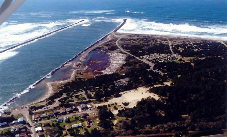 Barview Jetty County Campground In Rockaway Beach