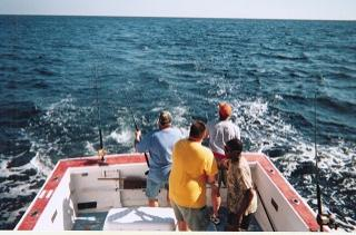 Martha marie fishing charters in lewes sussex county for Fishing charters lewes de